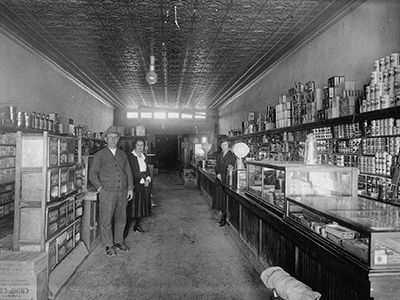 Inside Creed Store 1923