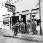 10 - Gilbert Garage purchased by Charles Blakely in 1920, torn down 1929, replaced by the Tone Bldg. which is now Joe's Real BBQ