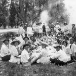 16- Picnic by canal circa 1918