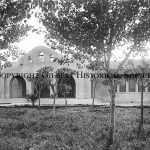 20-Early photo of Gilbert Elementary School, now the Historical Museum. Built in 1913. The photo is circa 1930's.
