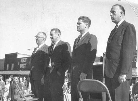 Pres Kennedy Memorial Service