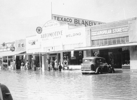 The Gilbert Flood