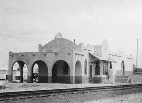 The Gilbert Train Depot